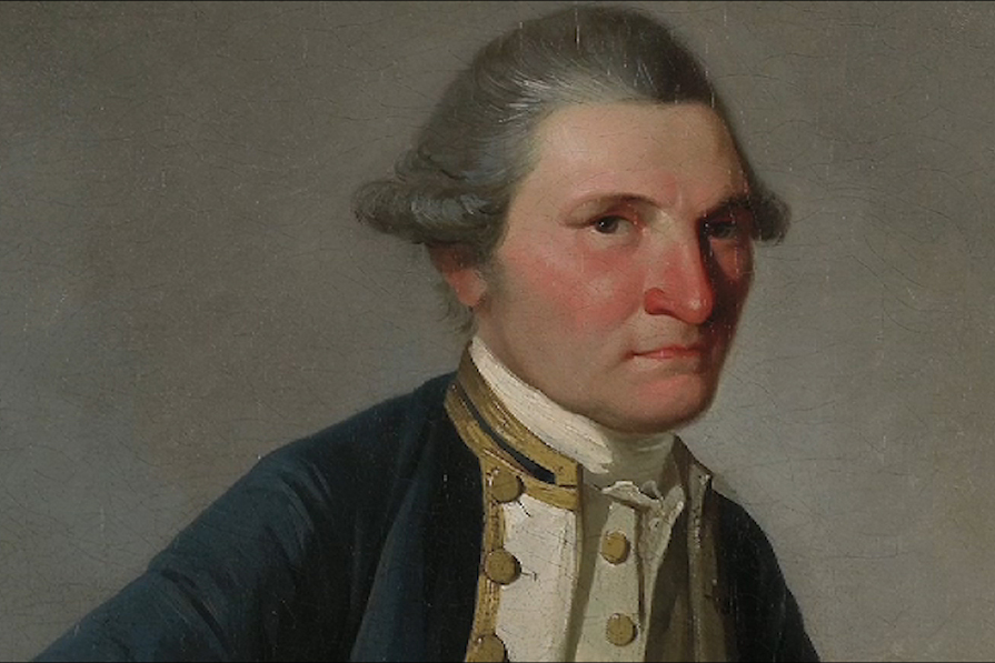 Captain James Cook, (1728 –1779) was a British explorer, navigator, cartographer, and captain in the Royal Navy
